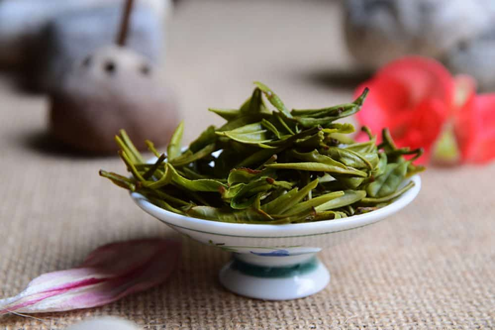 Guzhu Zi Sun brewed leaves - Wild Handmade Guzhu Zi Sun