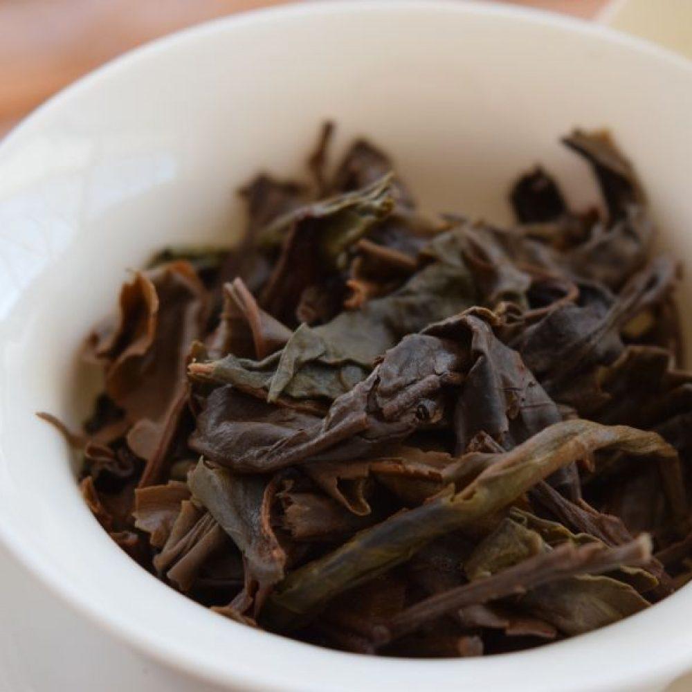 Lao Shu Sheng Pu'er 2008 - Brewed Leaves