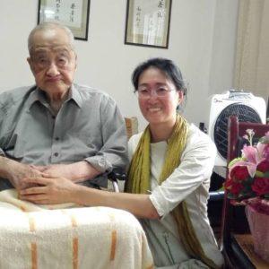 Zhang Tianfu's 107th birthday