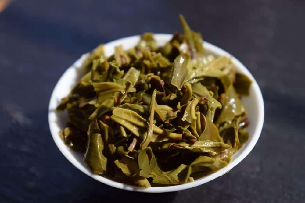 Dian Lü - brewed leaves