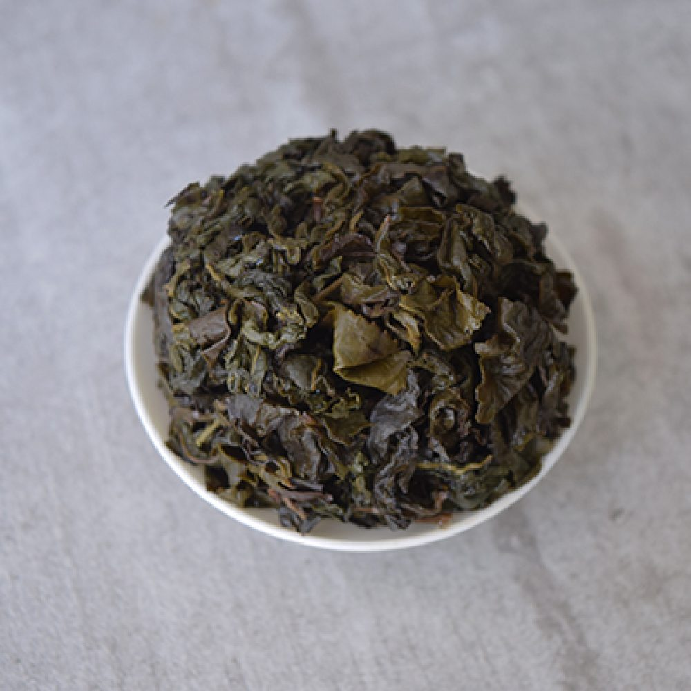 Bai Ya Qi Lan brewed leaves