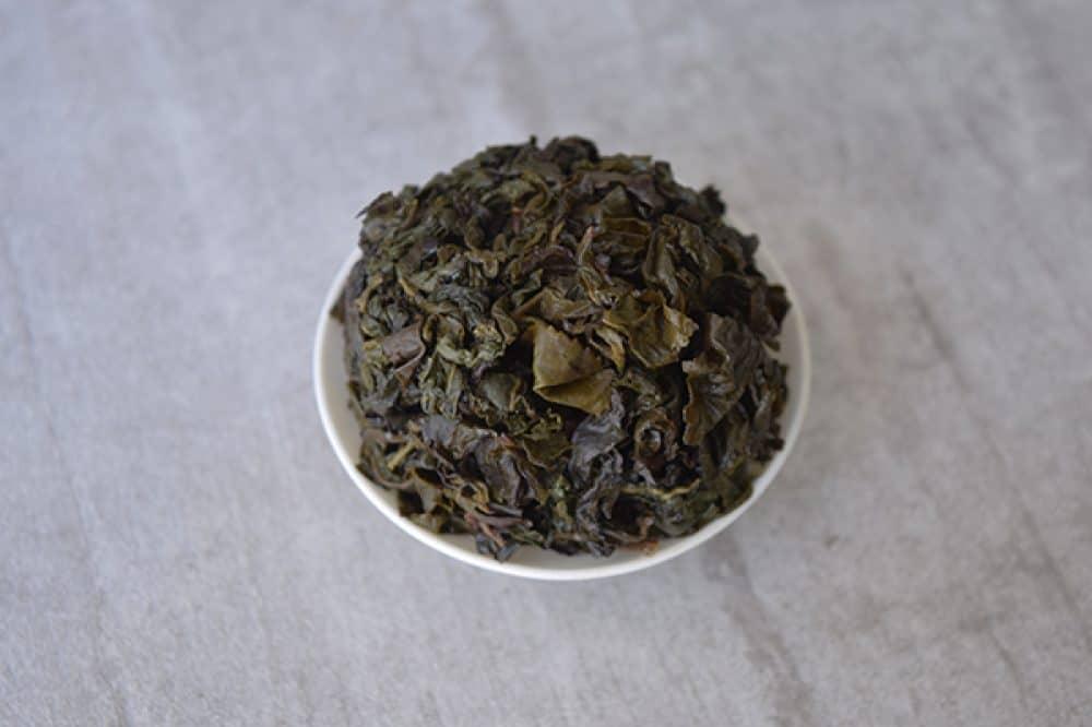 Bai Ya Qi Lan brewed leaves