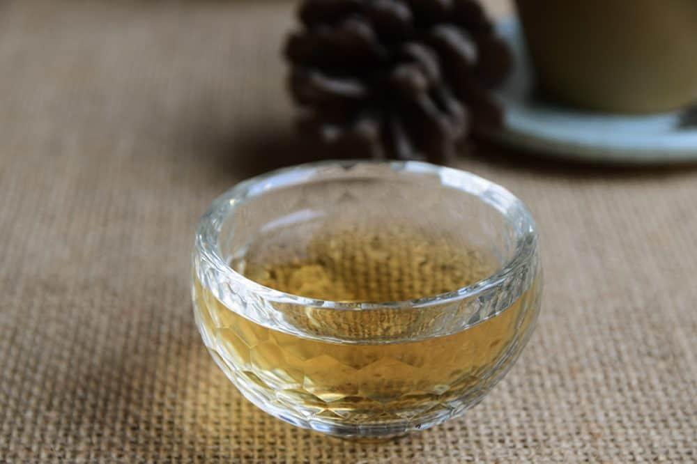 Biodynamic tea Fenghuang Dan Cong Mi Lan Xiang liquor