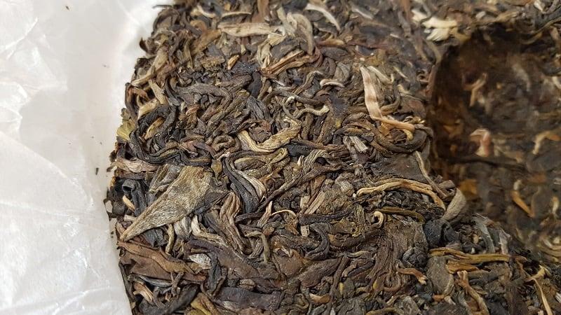 Sheng Pu Er 2016 Dark Tea Zhentea