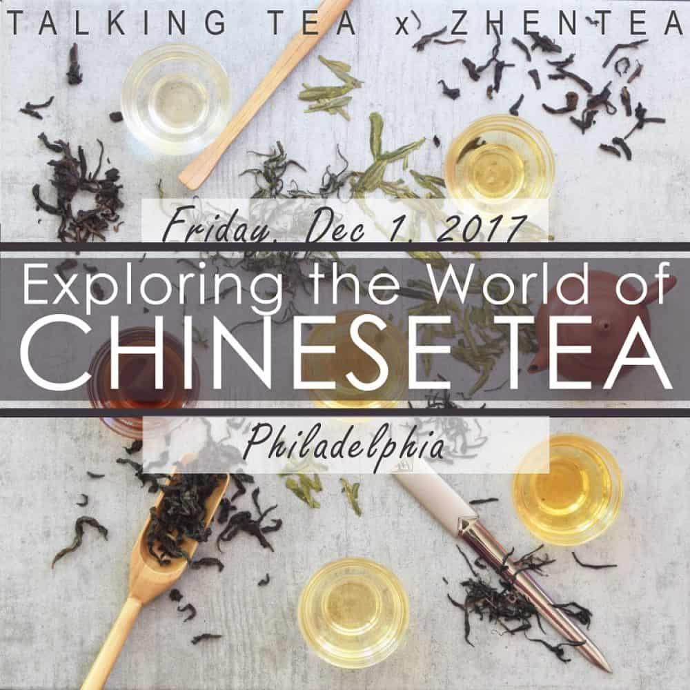 Tea Tasting Seminar Workshop