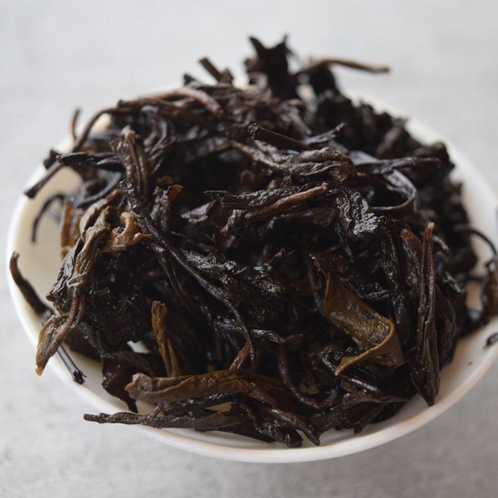 Tian Jian 2016 brewed leaves