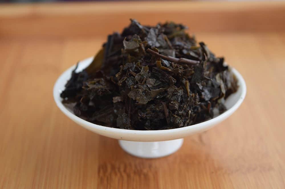 Fu Zhuan brewed leaves