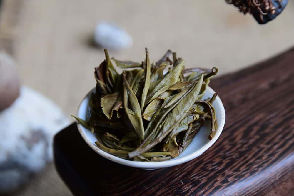 Bai Mu Dan - Top Grade 2014 brewed leaves aged white tea