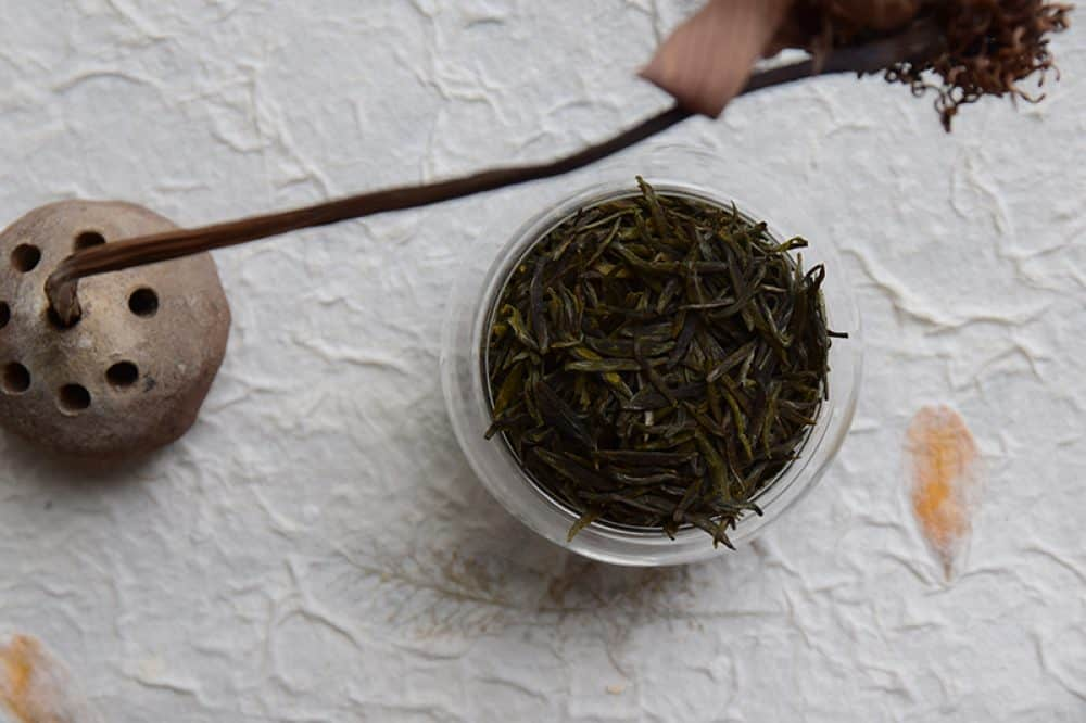 Meng Ding Huang Ya - hand made yellow tea