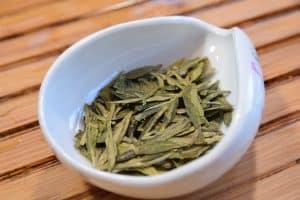 how to brew Long Jing green tea