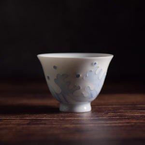tasting cup wave