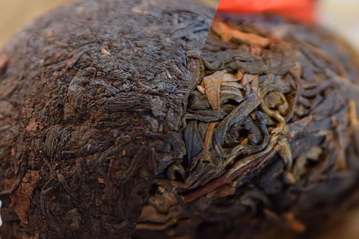 Sheng Shu Puer tea